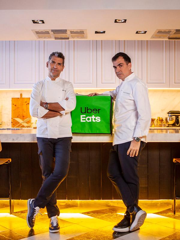 Paco Roncero, Ramón Freixa y Uber Eats presentan Cuatromanos